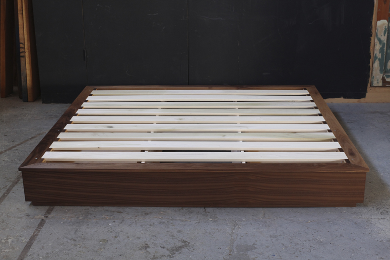 How To Build Platform Bed Slats