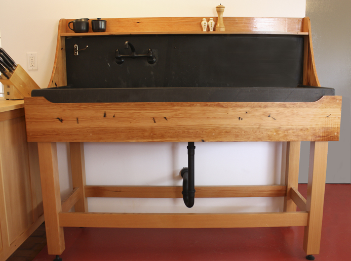 furniture shaker style sink stand this sink stand was inspired by ...
